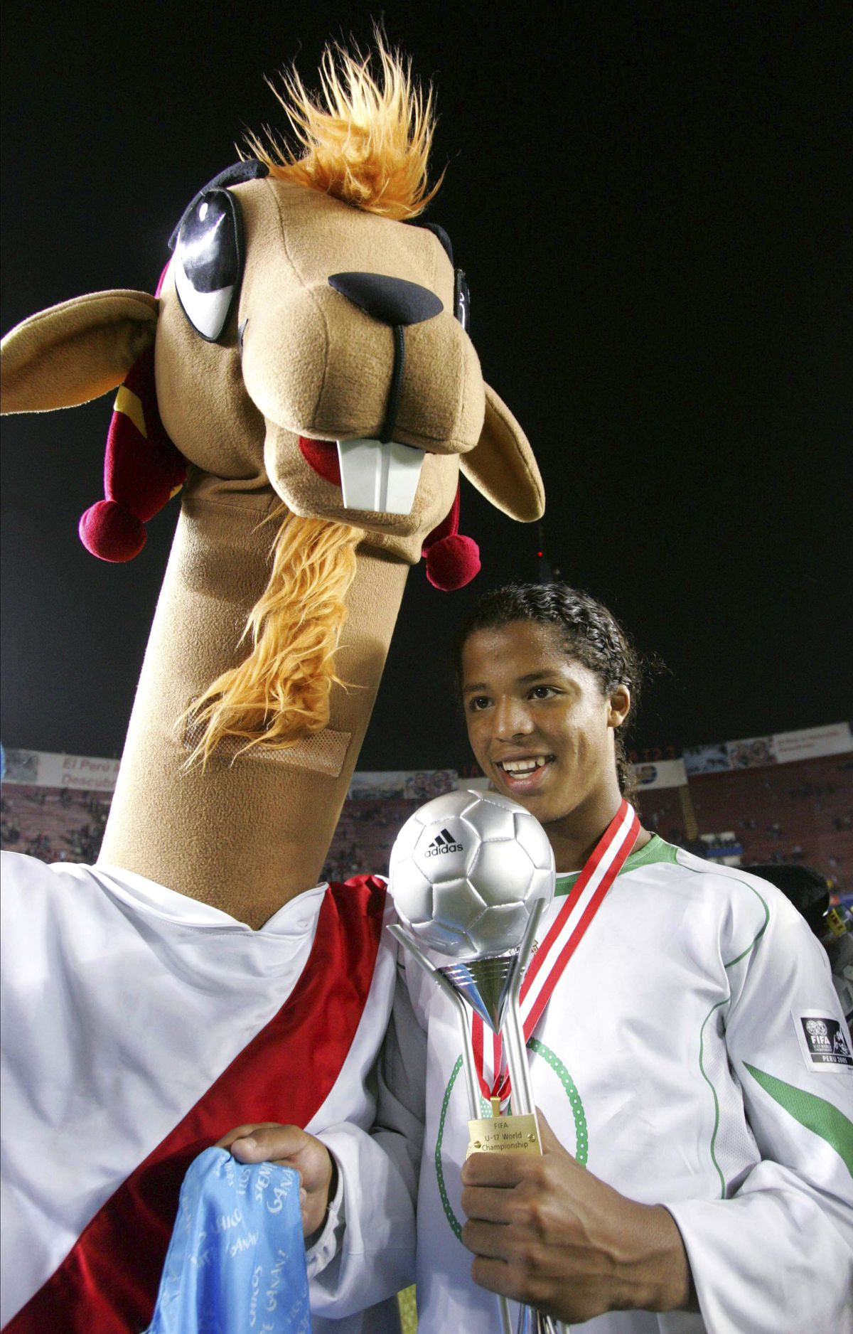 Mexico v Brasil, World Cup U 17 Peru 2005