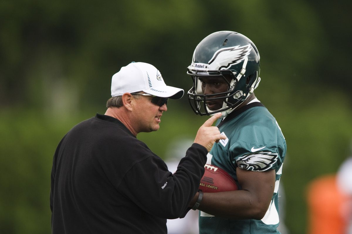 Marty Mornhenwig tells Bryce Brown that he can't transfer from the Eagles.