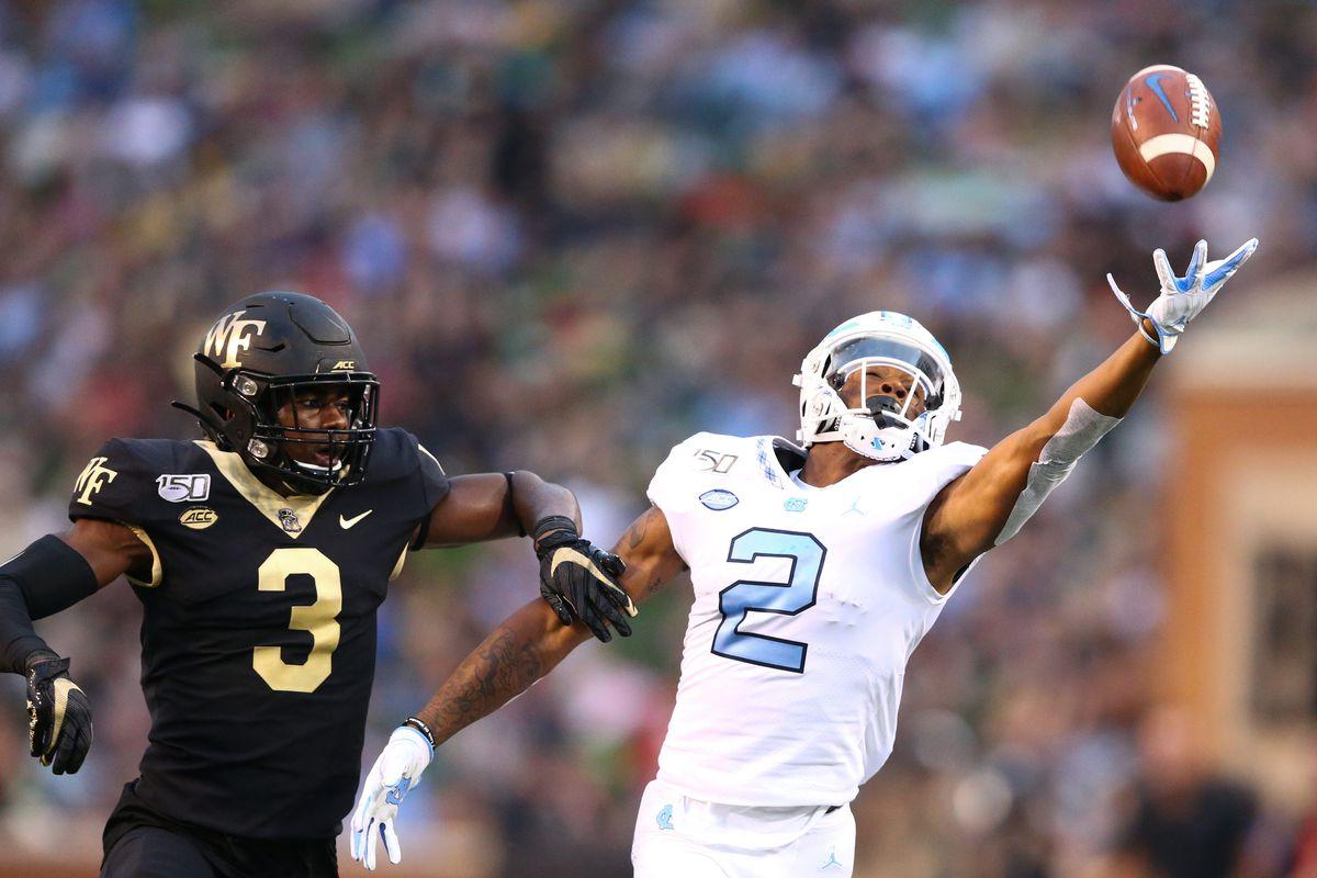 NCAA Football: North Carolina at Wake Forest