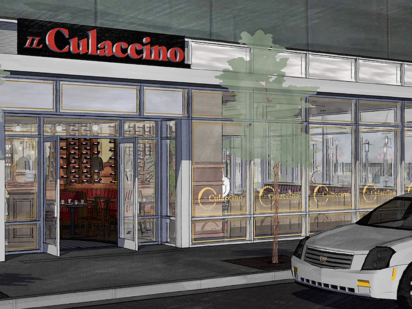Il Culaccino is coming to McCormick.