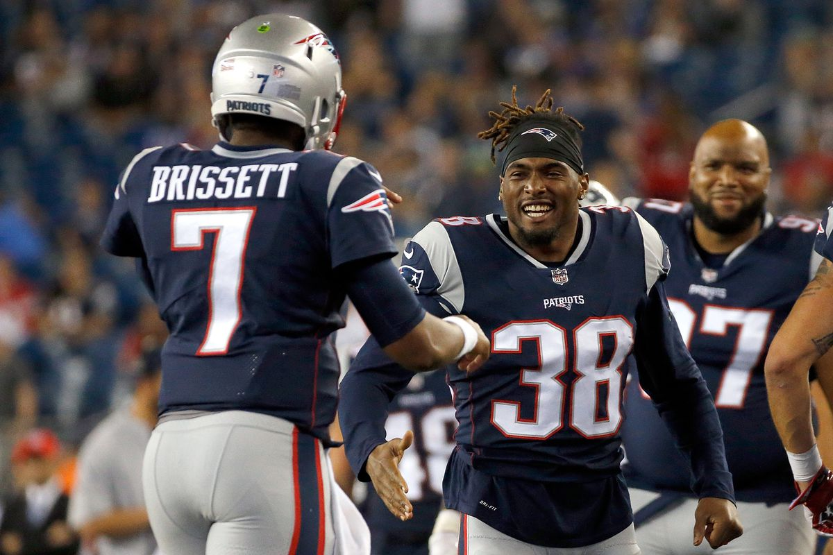 Photo by Jim Rogash Getty Images. The New England Patriots ... 7ad32a3eb