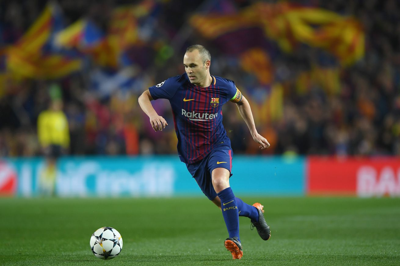 Andrés Iniesta and Sergio Busquets Injury Updates