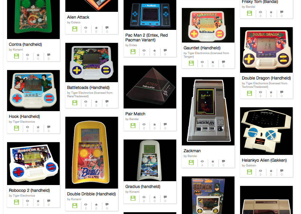 The Internet Archive put your favorite LCD handheld games