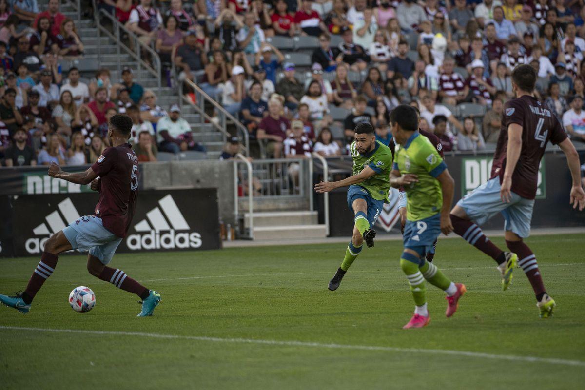 SOCCER: JUL 04 MLS - Seattle Sounders FC at Colorado Rapids