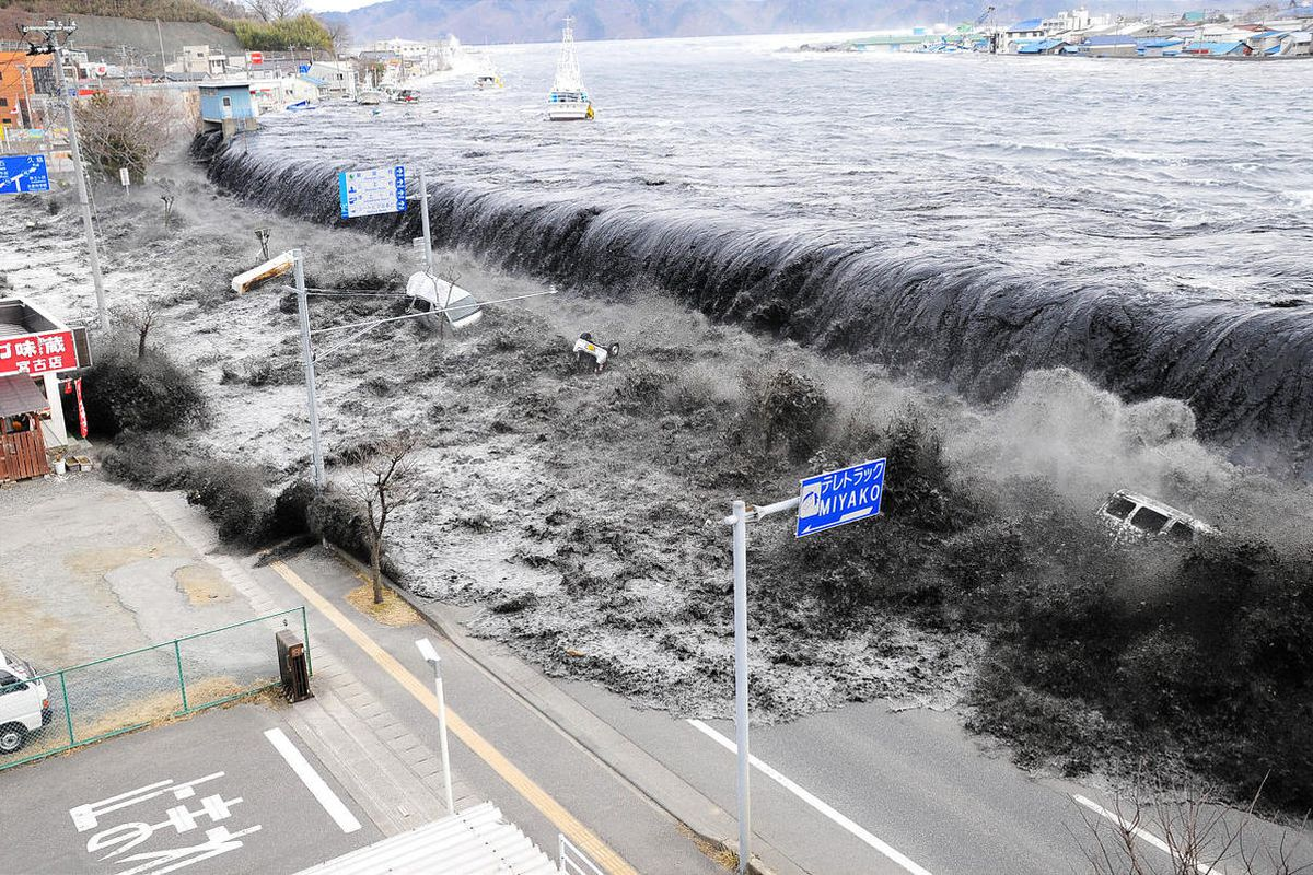 Debris from the Japan tsunami is now washing up on shores in Alaska. The first identified debris were two sports balls. It is expected that Alaska will receive many such items that float.