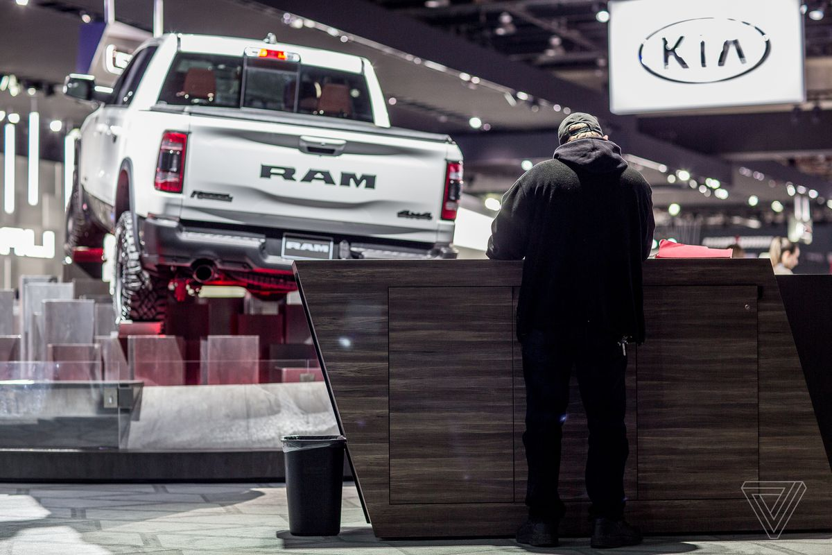 The Detroit Auto Show In Pictures The Verge - Car show booth