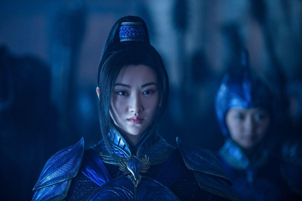 Tian Jing in The Great Wall