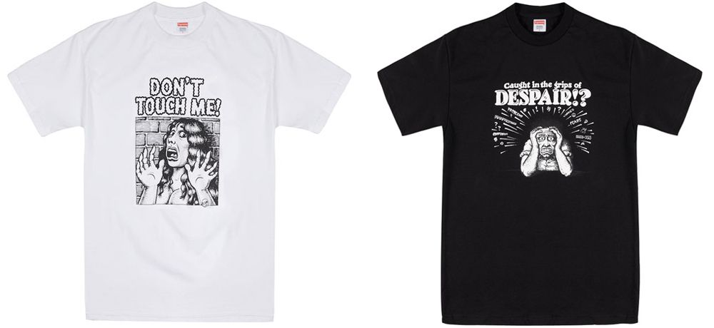 R. Crumb T-Shirt Collab with Supreme