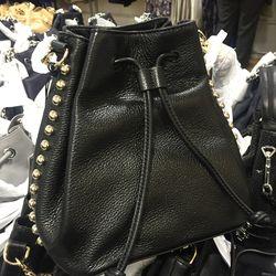 Bucket bag, $148