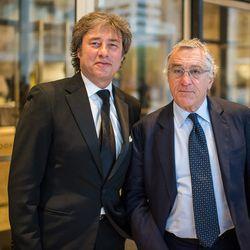 Marco Maccioni and Robert De Niro