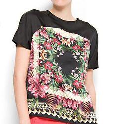 "<a href="" http://shop.mango.com/US/p0/mango/new/tropical-frame-blouse/?id=61234563_02&n=1&s=nuevo&ie=0&m=&ts=1337926036285""> Mango tropical print blouse, $34.99 mango.com"