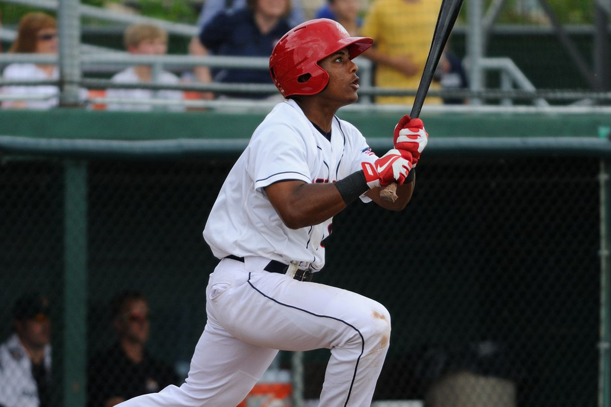 Nationals short stop Wilmer Difo did it all last night with five hits and more.