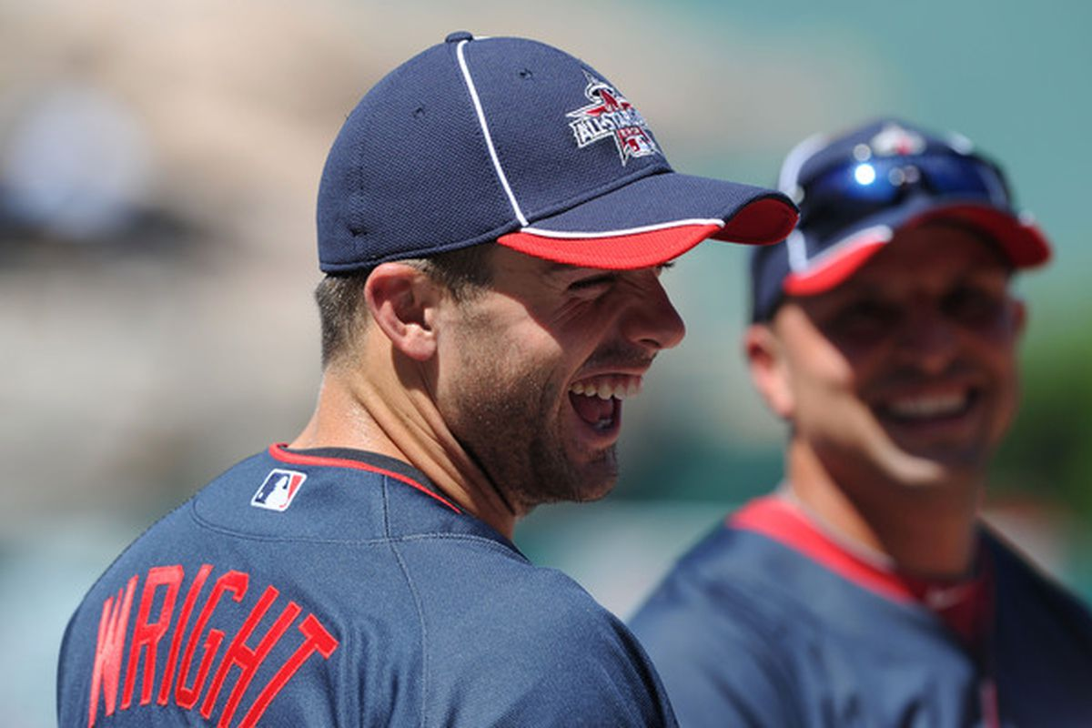 David Wright will make his sixth All-Star Game appearance this year.