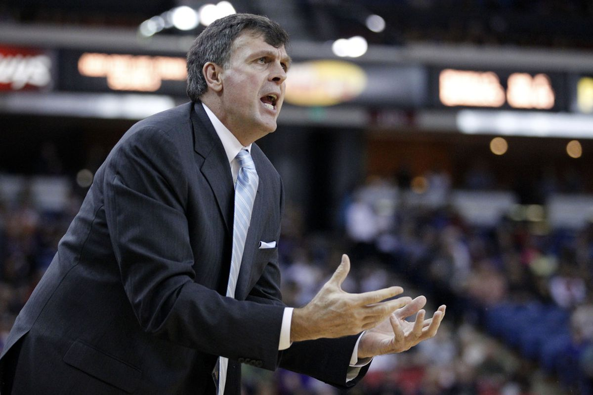 Kevin McHale is not happy.