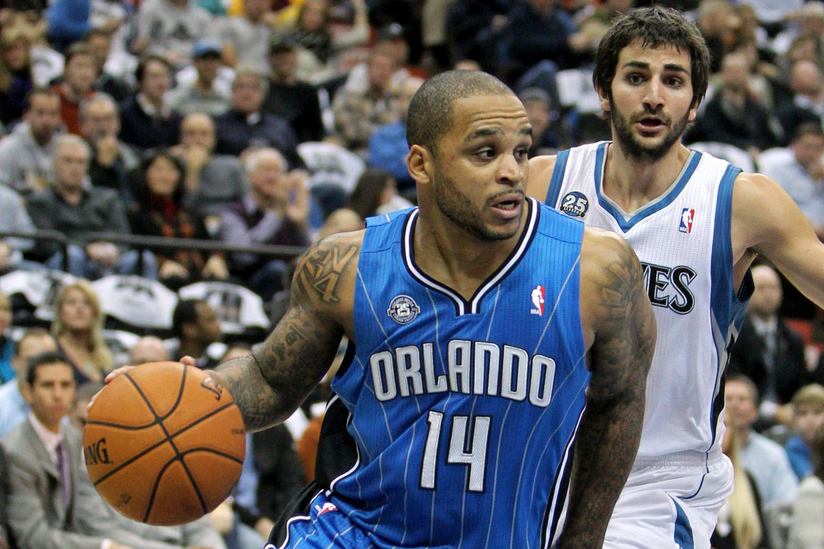 Jameer Nelson and Ricky Rubio