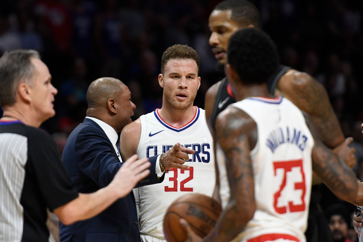 f837c9b1bca0 The Rockets-Clippers locker room  fight  didn t happen quite like we ...
