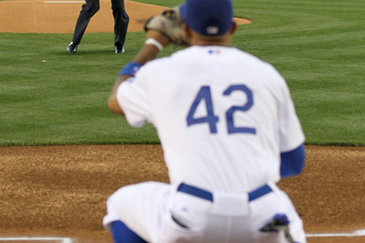 Don Newcombe will start Wednesday for the Dodgers against Derek Lowe and the Braves.