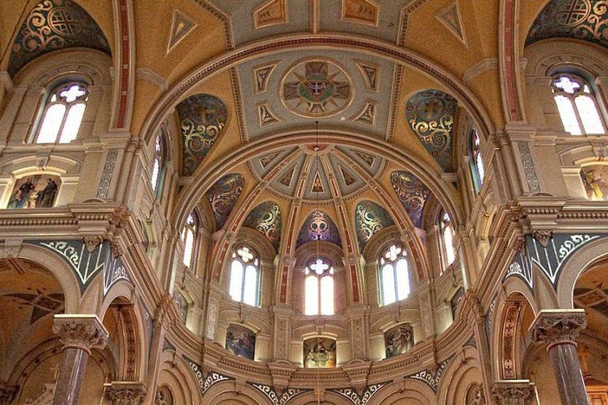 """Photos via <a href=""""http://oldstmarysdetroit.com/""""> Old St. Mary's Church</a>"""