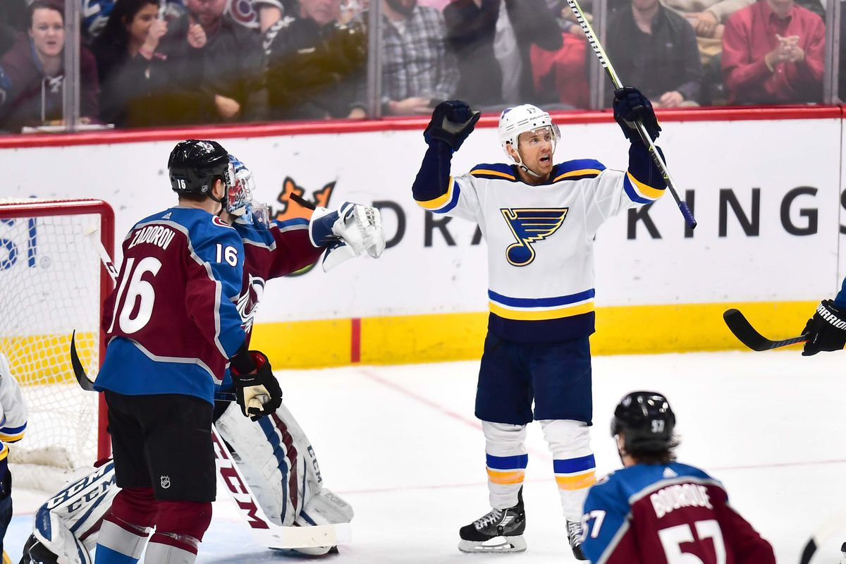 NHL: St. Louis Blues at Colorado Avalanche