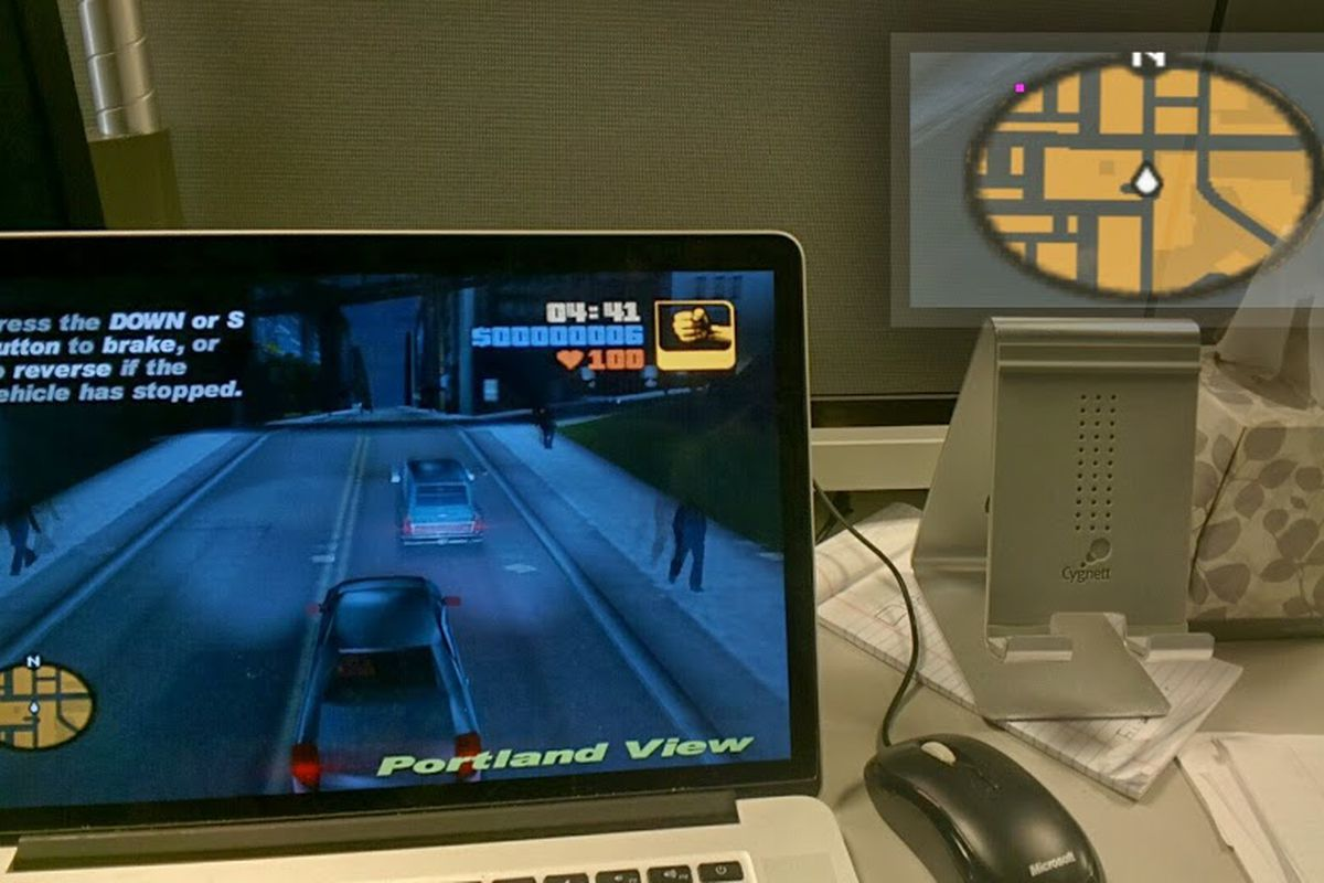 Google Glass app dev creates Grand Theft Auto 3 GPS map