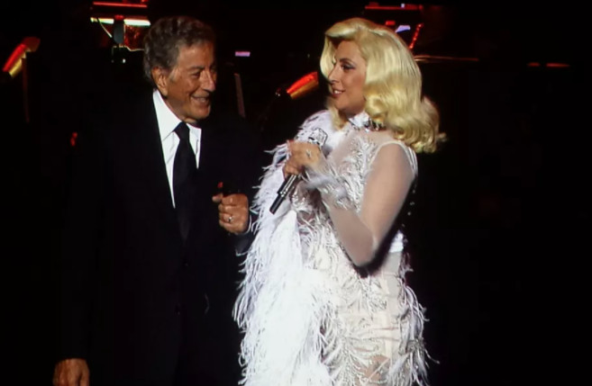 Tony Bennett and Lady Gaga performed a pair of sold-out shows at Ravinia in 2015.