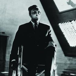 """Peter Sellers in """"Dr. Strangelove, Or: How I Learned to Stop Worrying and Love the Bomb"""""""