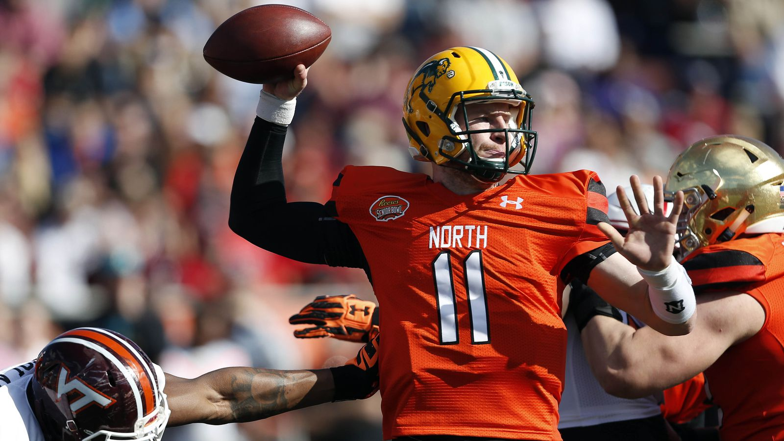2016 NFL mock draft: The rise of Carson Wentz