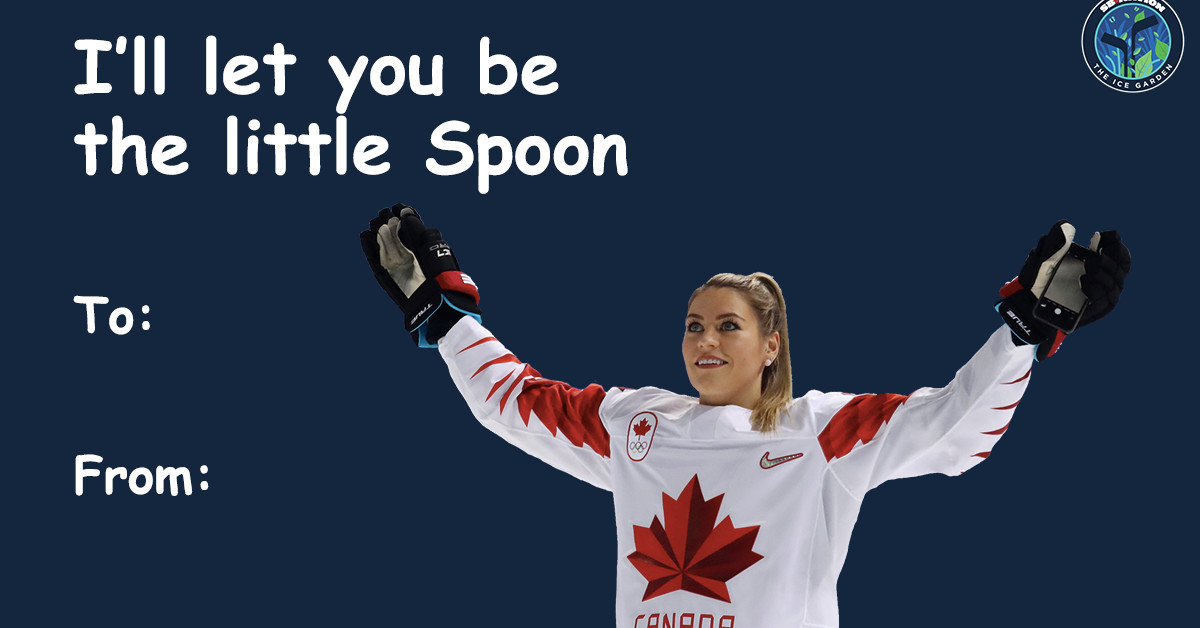 9 women's hockey Valentine's Day cards to send to your crush