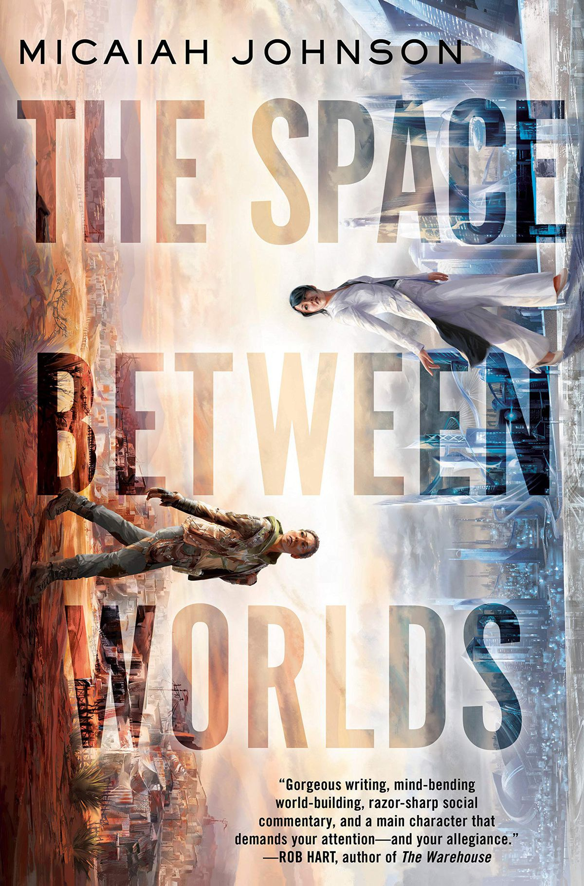 The Space Between Worlds by Micaiah Johnson cover
