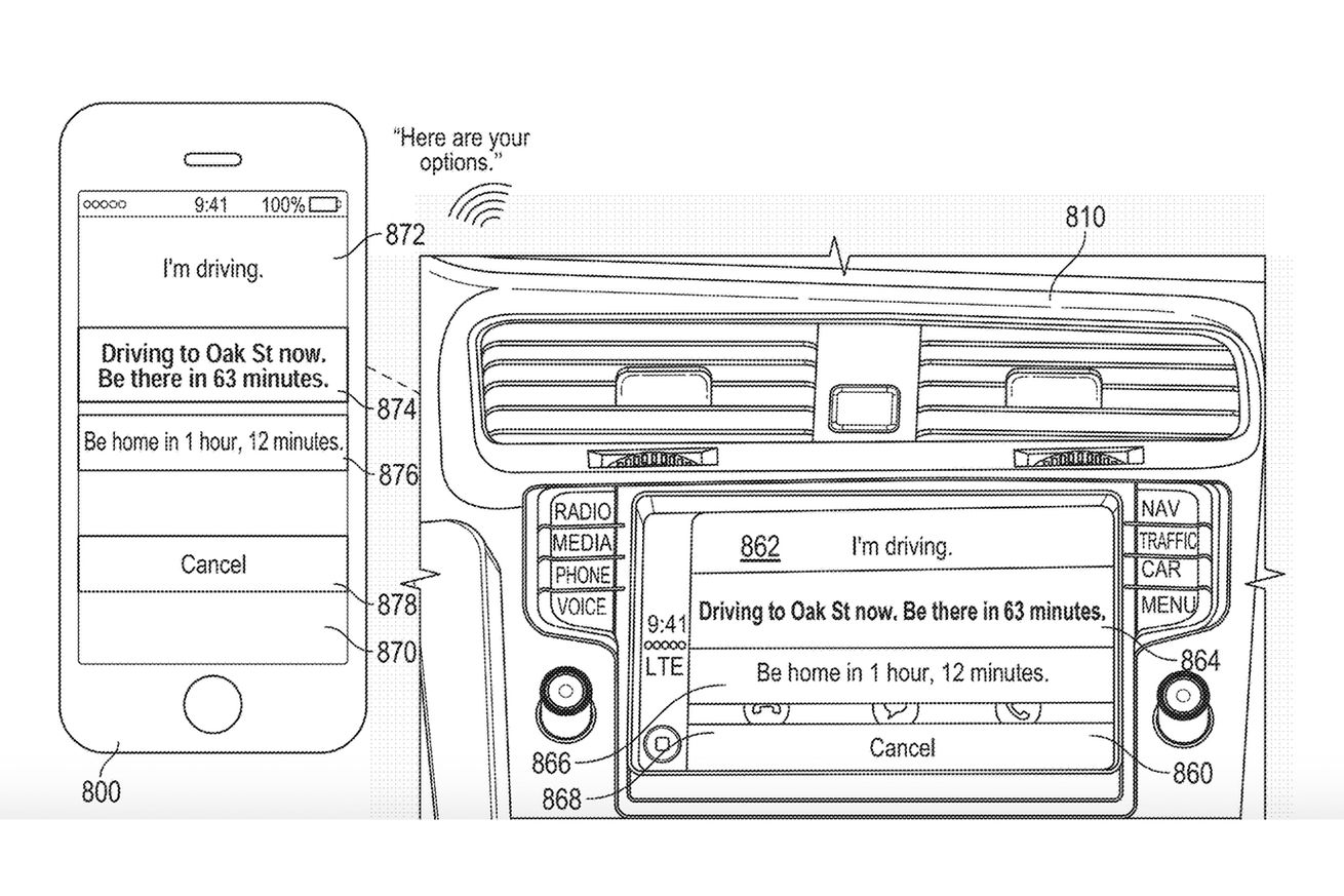 apple patent shows siri providing smart replies when you can t answer the phone