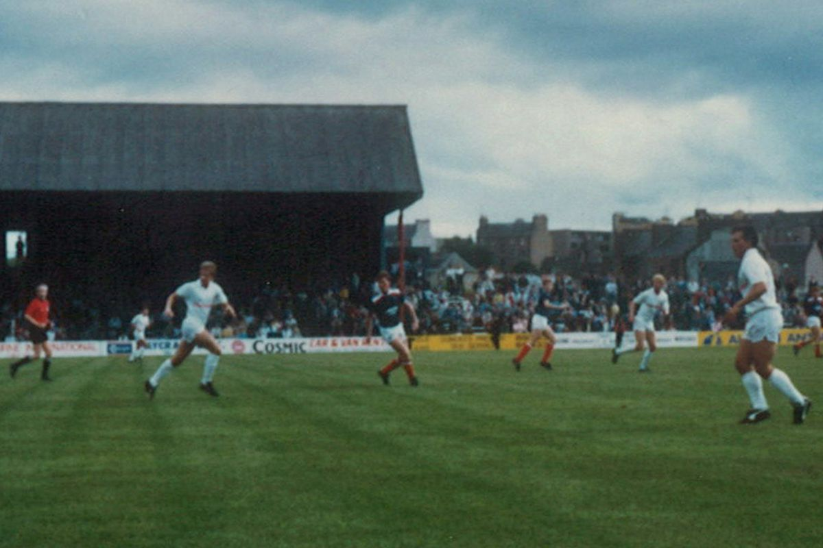 FC Seattle playing friendly at Dundee, 1987
