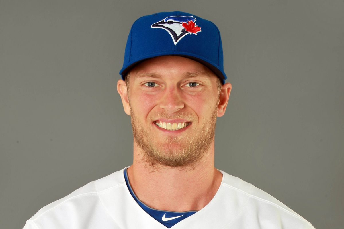 Michael Saunders has a lot to smile about in the past few days.