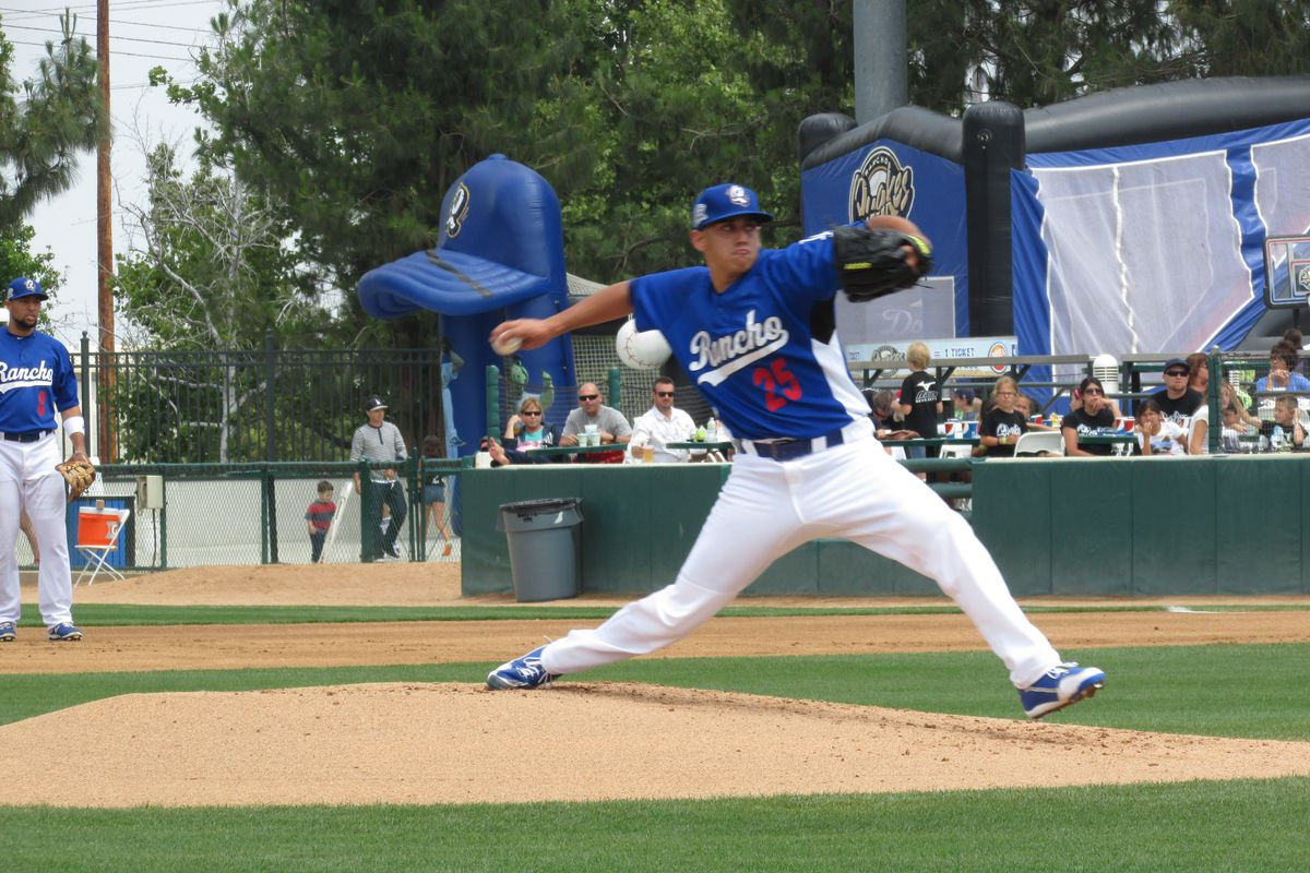 Jose De Leon struck out eight and gave up just one run