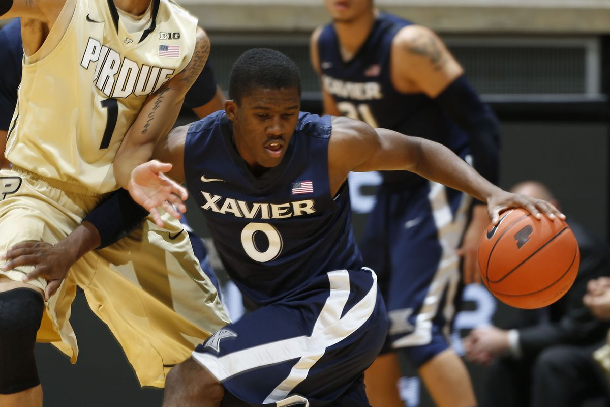 Semaj Christon was unstoppable today in carrying Xavier to victory over Purdue.