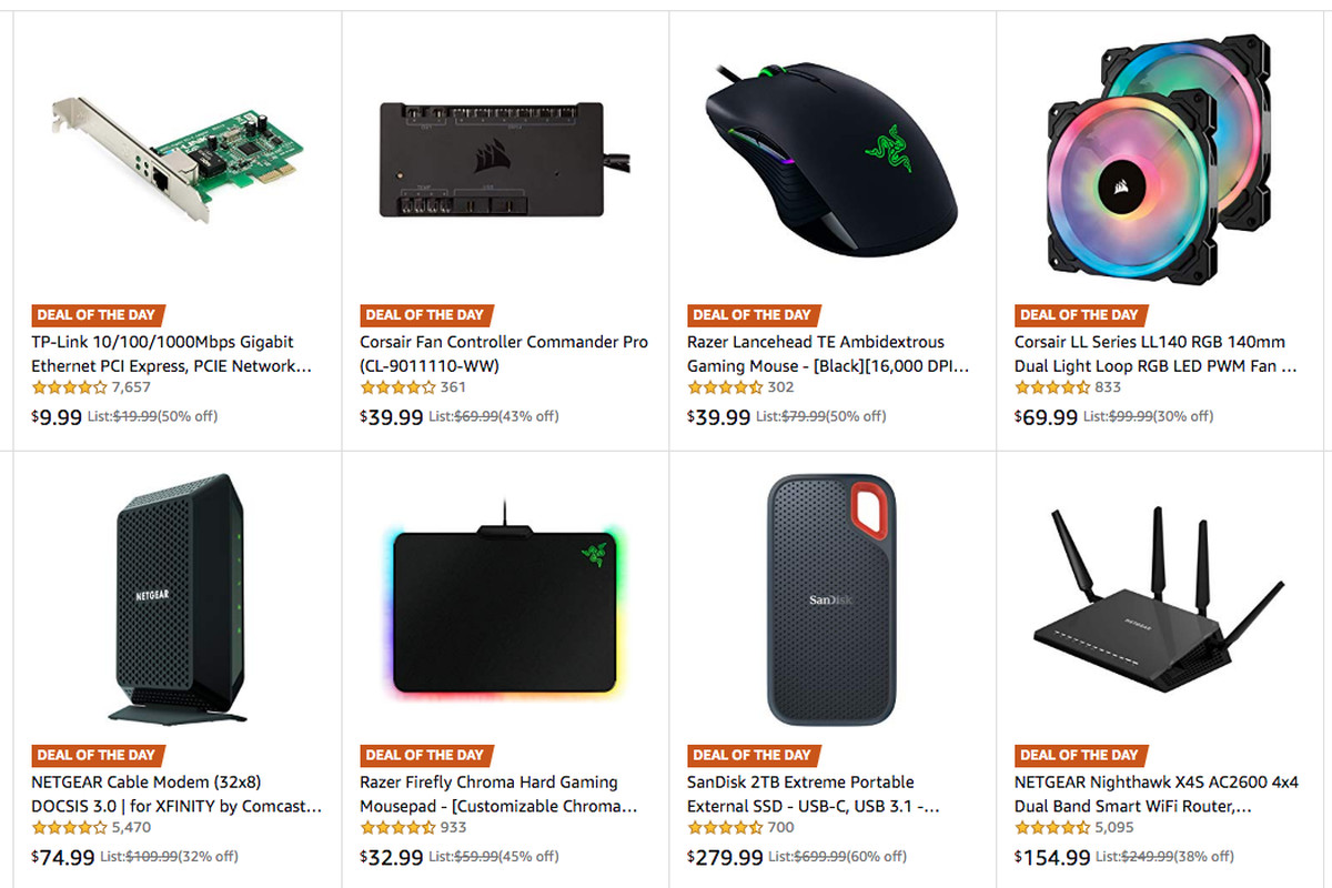 Amazon PC deal of the day