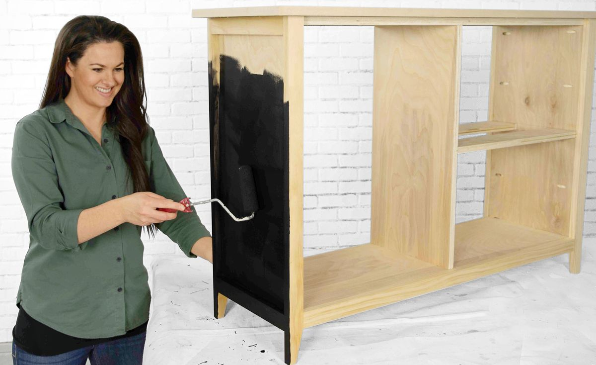 Fall 2021, Easy DIY, console cabinet, step 8