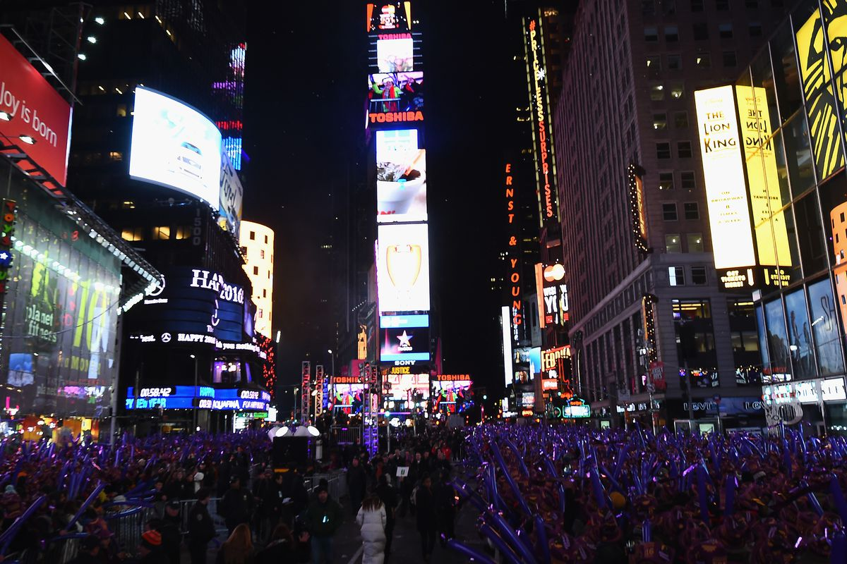 New Year's Eve 2016 In Times Square
