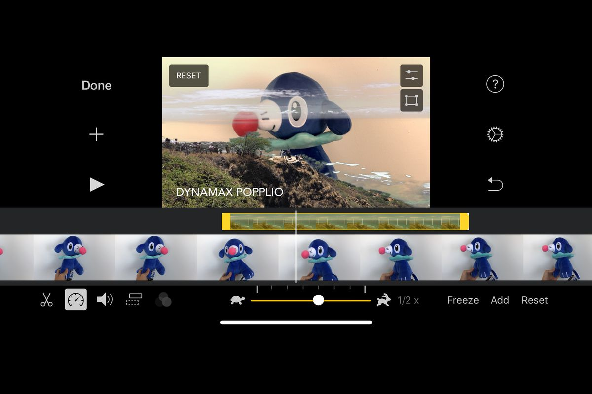 iMovie for iOS adds a green screen feature - The Verge