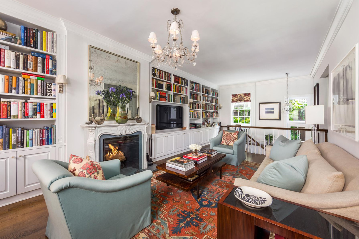 For 7 8m a 172 year old greenwich village townhouse with for Greenwich townhomes for sale