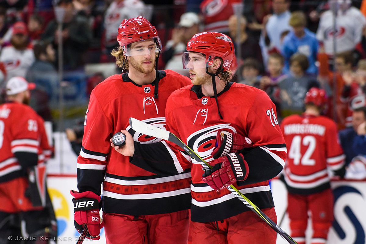 Hurricanes Trade Lindholm and Hanifin to Calgary for Hamilton adbfab9a7