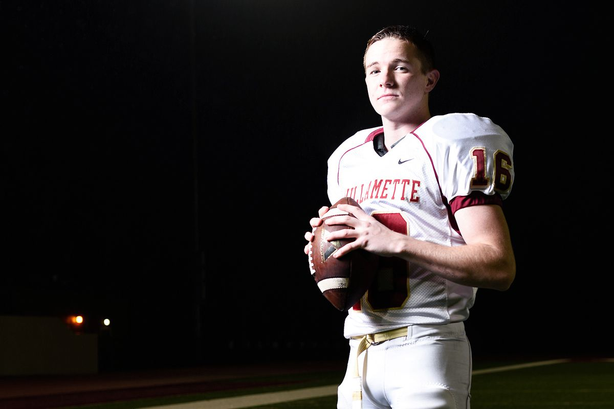Conner Mertens just completed his first season playing with the Willamette football team.
