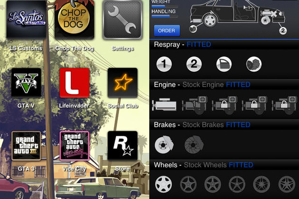 Rockstar's iFruit app lets you customize 'Grand Theft Auto V
