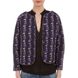 """<b>Ulla Johnson</b> Casbah Reversible Jacket, <a href=""""http://www.barneys.com/on/demandware.store/Sites-BNY-Site/default/Product-Show?pid=503172330&cgid=womens-jackets&index=19"""">$345</a> at Barneys"""