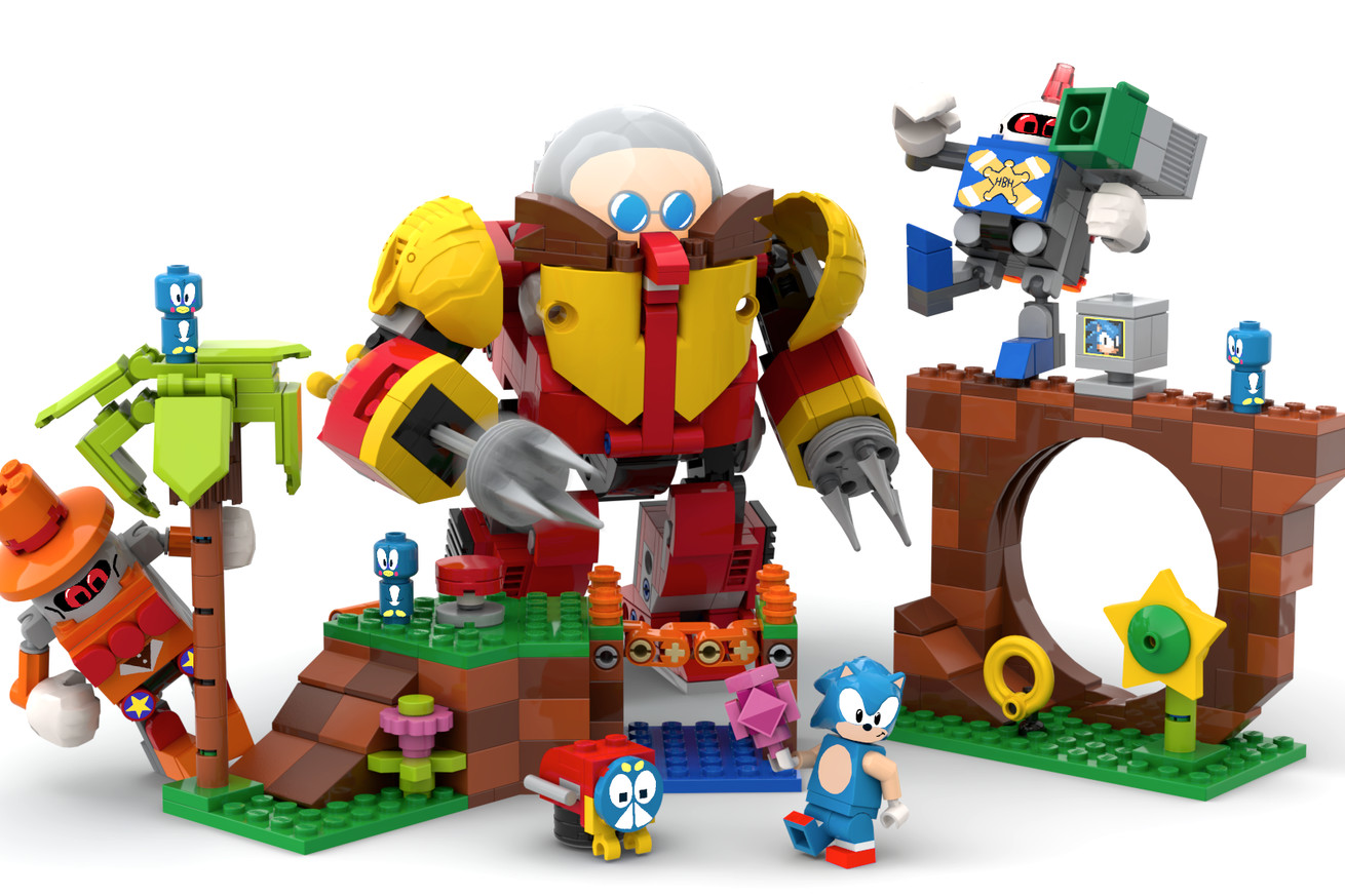 Lego is making a Sonic Mania-themed set inspired by a fan creation