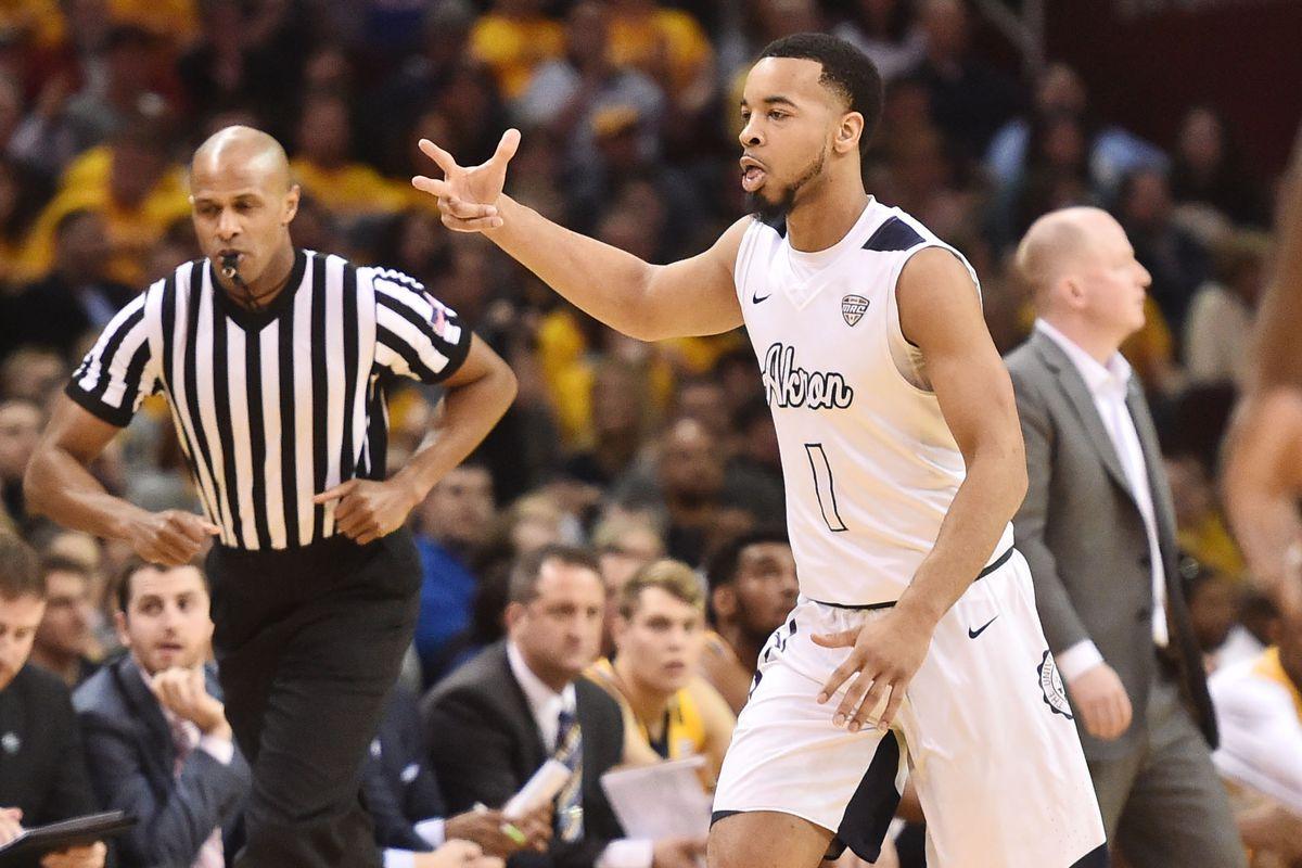 NCAA Basketball: MAC Conference Tournament-Akron vs Kent State