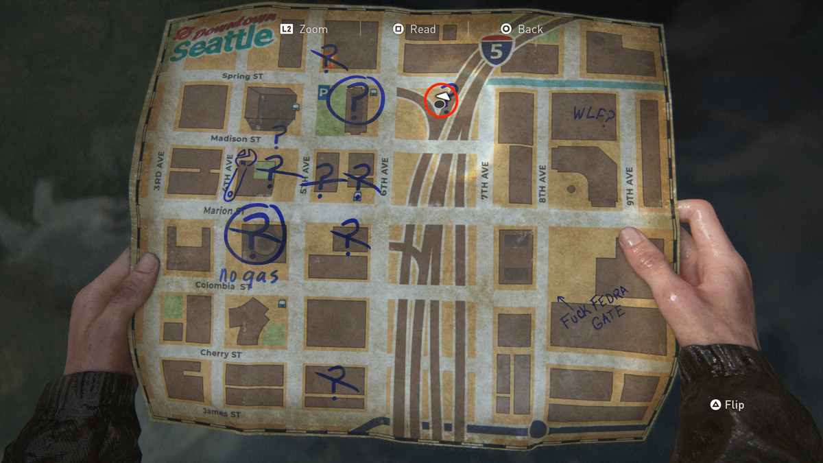 Note To Informant Artifact collectible The Last of Us Part 2 Seattle Day 1 (Ellie)
