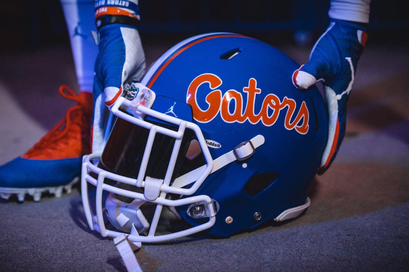Brandon Spikes Florida Gators Football Jersey - Blue