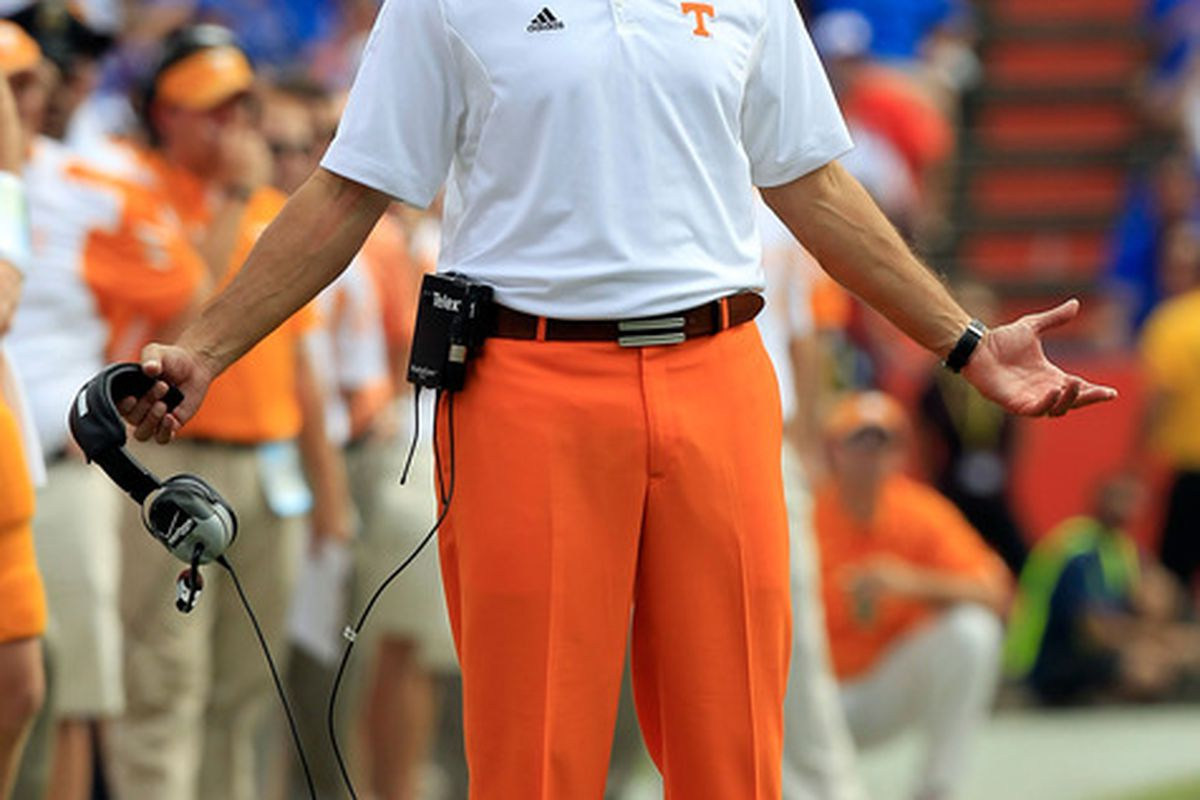 You remember the orange pants, don't you?