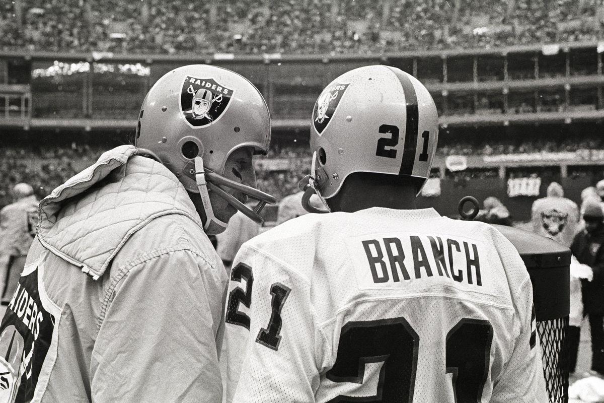 Raiders Biletnikoff and Branch