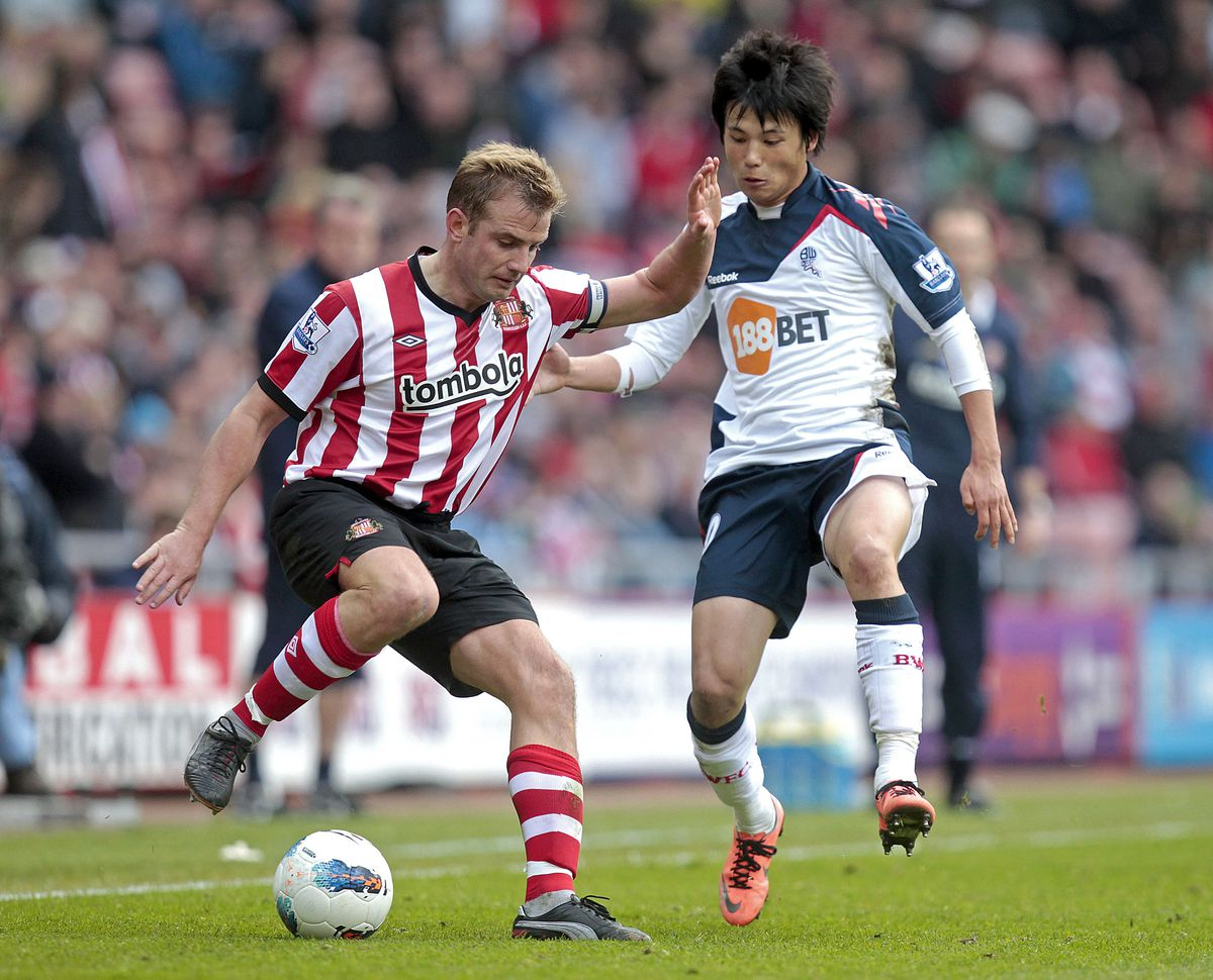 Sunderland's English midfielder Lee Catt